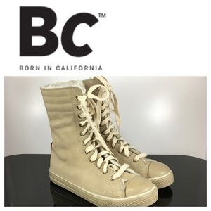 💙BC Born In California High Top sneakers size 6.5